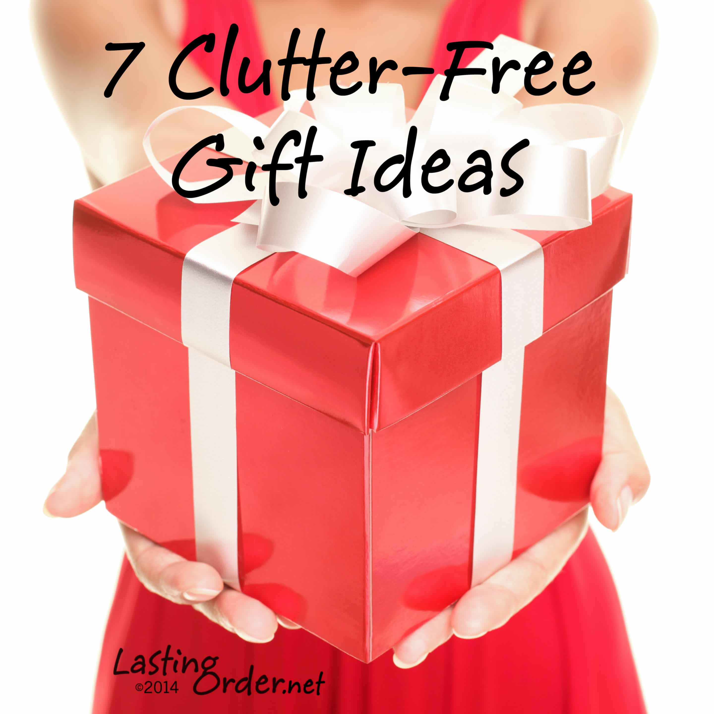 7 Clutter-Free Gift Ideas - Lasting Order