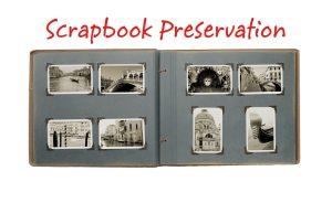 Scrapbook Preservation Title