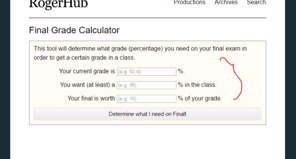 rogerhub final grade claculator