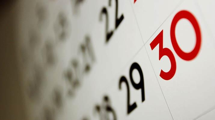 Calendario dias festivos en Lastras de Cuéllar 2018
