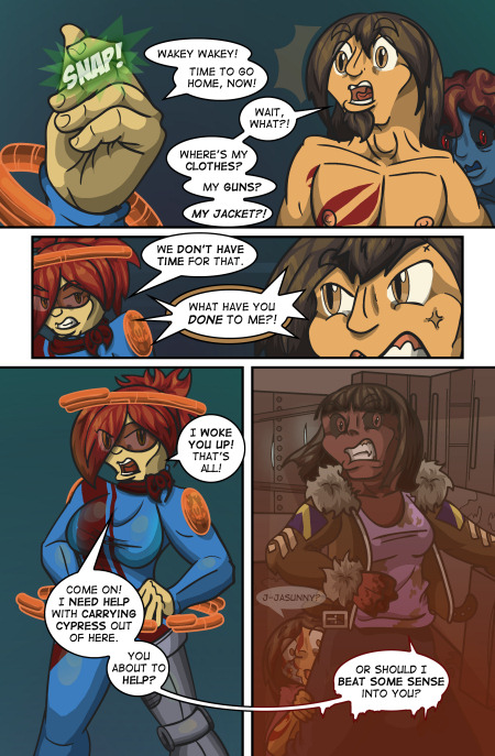 [TRIGGER WARNING] -- Ah, screw it, this comic is rated high for a reason.