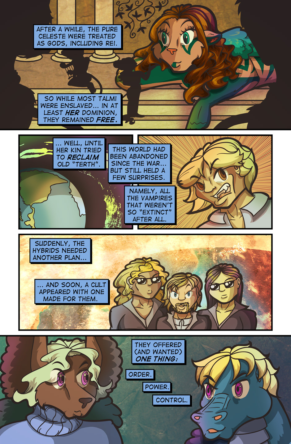 Backstory Ahoy!