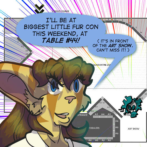 See me at Biggest Little Fur Con in Reno, Nevada!
