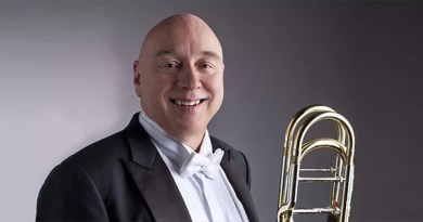 Vernon to Give Premiere of Stephenson Bass Trombone Concerto