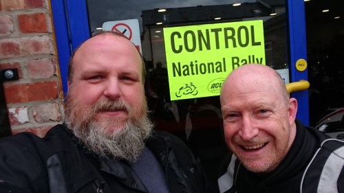 2 blokes, half a head of hair...