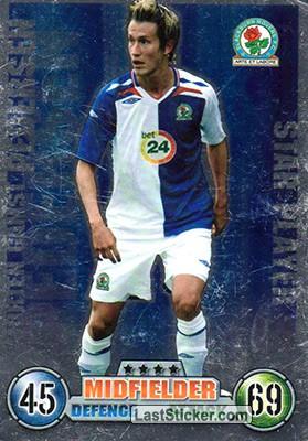 Card 327: Morten Gamst Pedersen - Topps English Premier ...