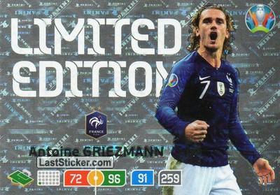Prancis tersingkir di babak 16 besar euro 2020. Card LE-AG: Antoine Griezmann - Panini UEFA Euro 2020 ...