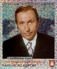 Sticker 80: Karl-Heinz-Kpcke - Juststickit! Hamburg ...