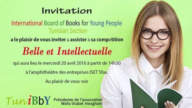 Belle et intellectuelle