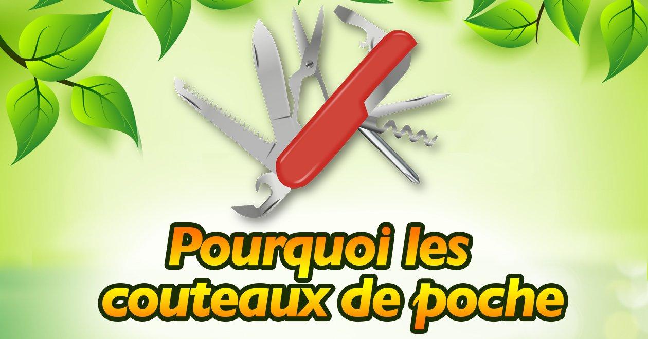 Infographie : Pour les couteaux de poche