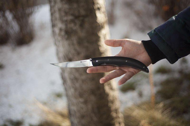 Test couteau à filet pliant CRKT Surf N' Turf.