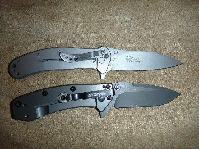 Test du couteau pliant Kershaw Zing SS