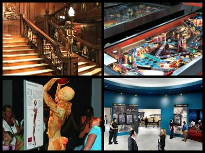 Las Vegas Attractions And Points Of Interest