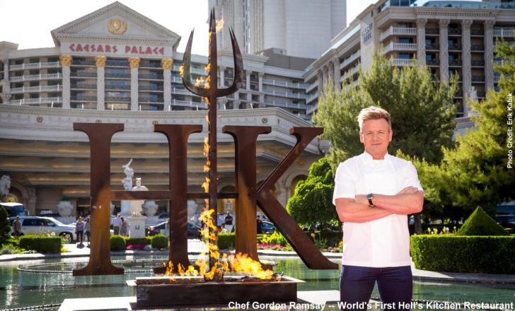 Gordon Ramsay Worlds First Hells Kitchen Restaurant
