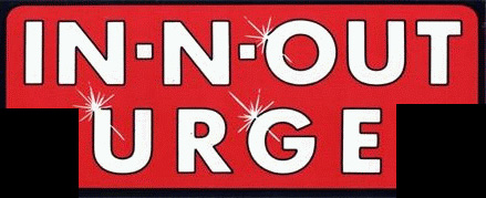 Modified In-N-Out Burger Bumper Sticker from the 80's