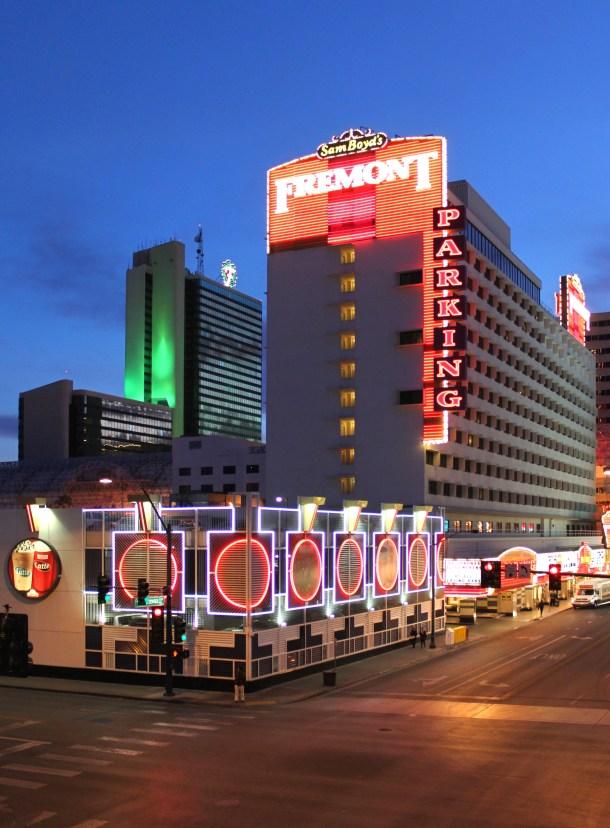 Fremont Hotel & Casino in Downtown Las Vegas, Nevada