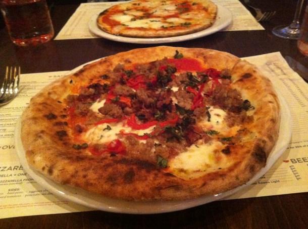 Due Forni - Due Forni pizza served Neapolitan style