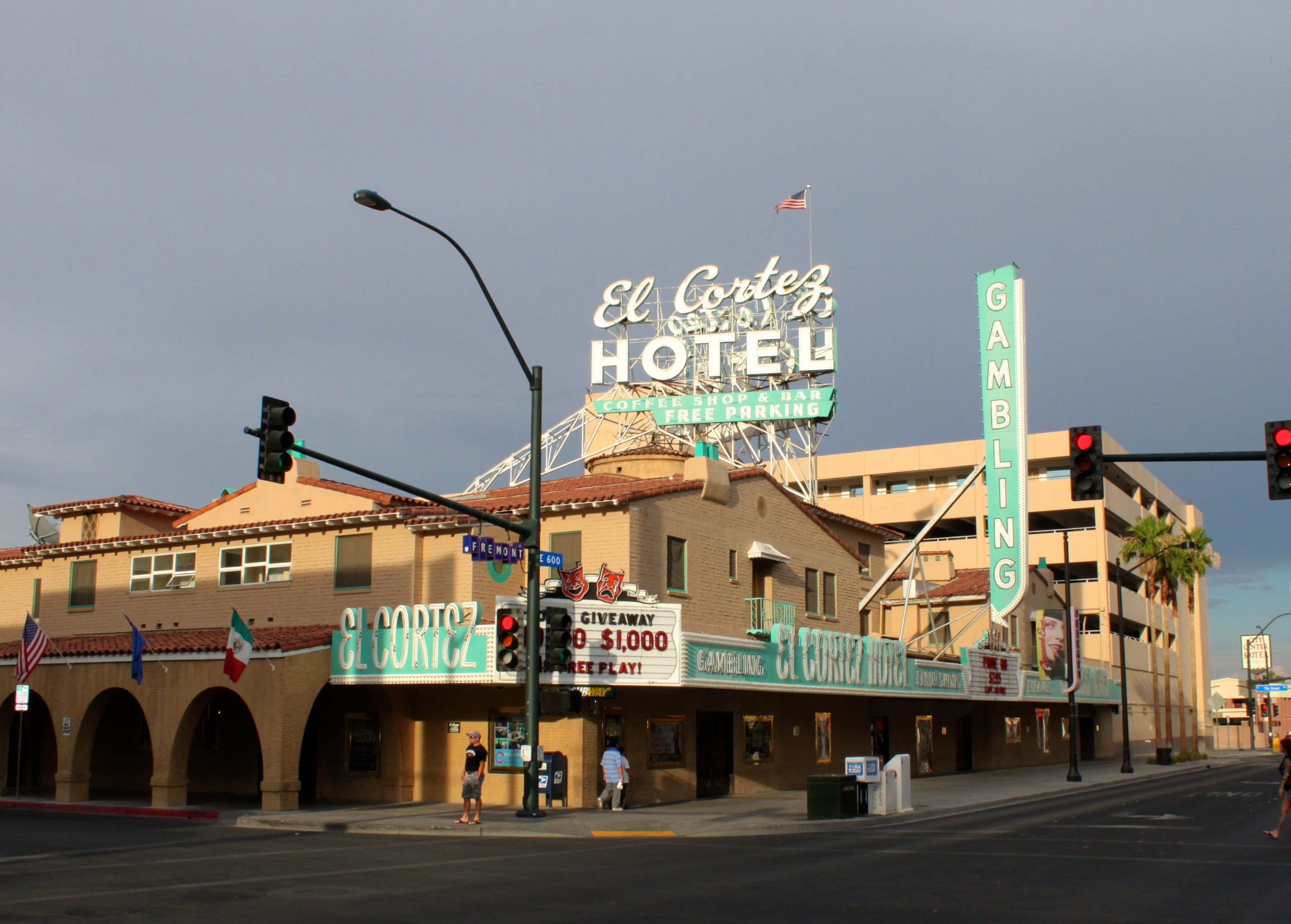 On This Date February 22 2013 The El Cortez was placed
