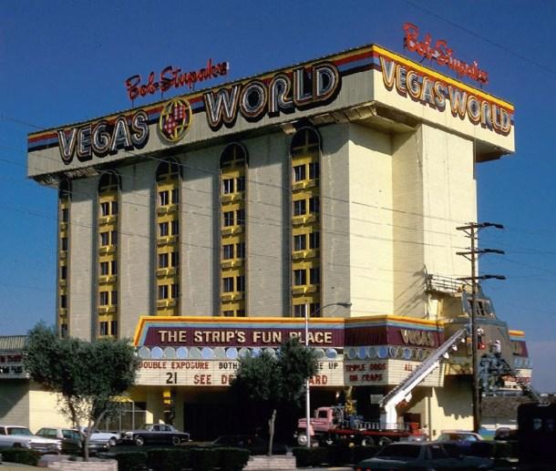 Bob Stupak's Vegas World Opened on Friday July 13, 1974