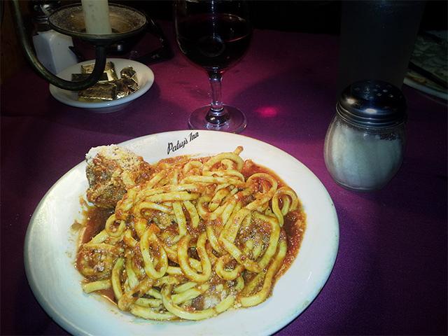 Patsy's Homemade Spaghetti