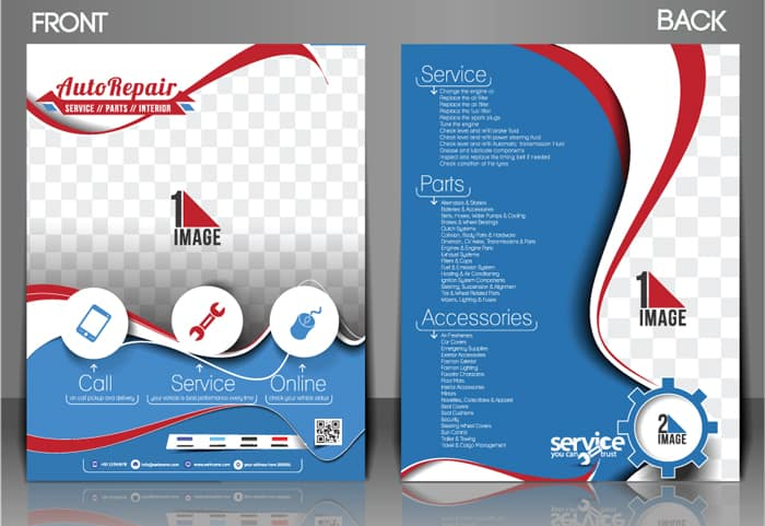 designing and printing flyers