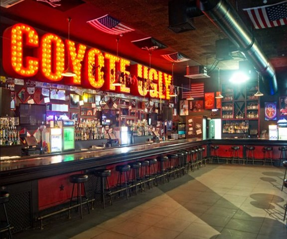 Join the Happy Hour at Coyote Ugly at New York New York in Las Vegas. NV 89109