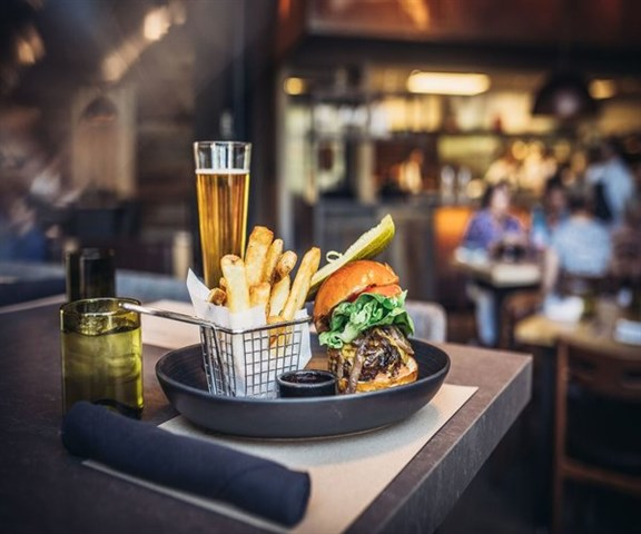 Join the Happy Hour at Wolfgang Puck Bar and Grill in Las Vegas. NV 89135