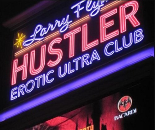 Join the Happy Hour at Larry Flynts Hustler Club in Las
