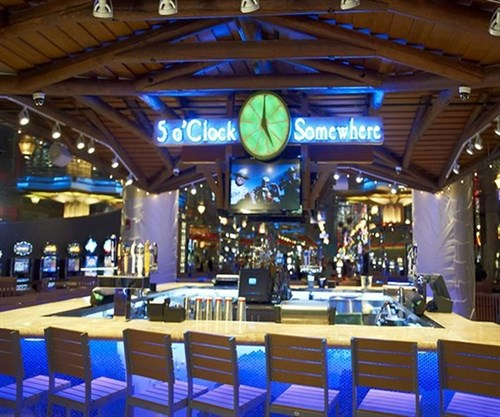 Join the Happy Hour at 5 O' Clock Somewhere Bar in Las Vegas. NV 89109