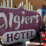 Neon Museum Las Vegas Algiers Hotel Sign