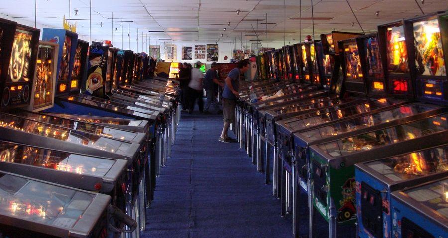 Las Vegas pinball hall of fame