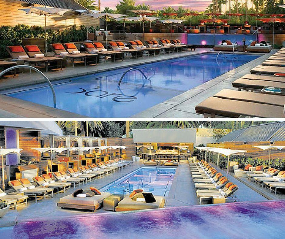 Bare Pool Mirage Las Vegas