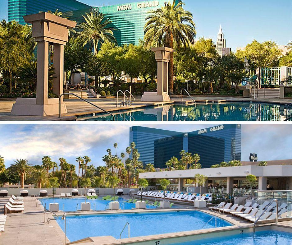 MGM Grand Pool Las Vegas