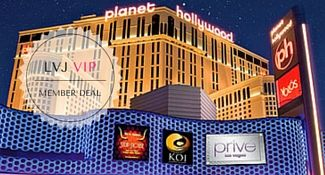 Planet Hollywood Las Vegas VIP Member Deal