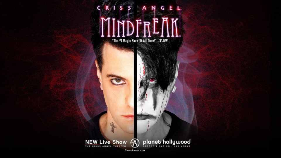 Criss Angel Mindfreak Planet Hollywood Discount Tickets