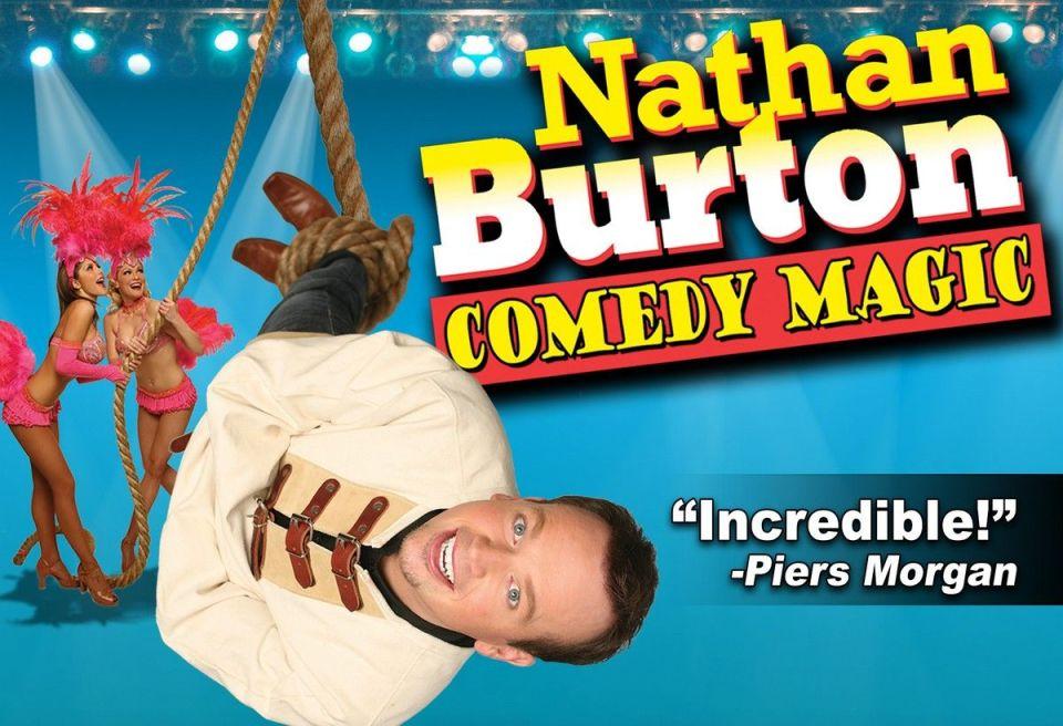 Nathan Burton Comedy Magic Las Vegas Discount Tickets