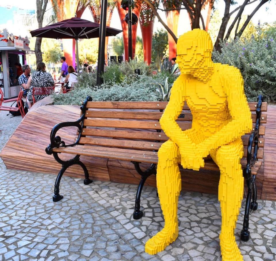 The Park Vegas Nathan Sawaya Lego Sculpture