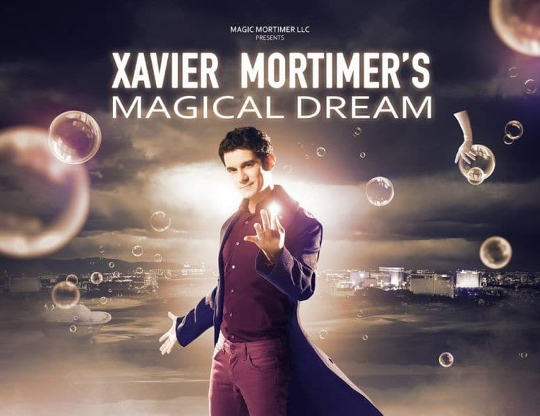 Xavier Mortimer Magical Dream Show Las Vegas