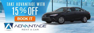 Advantage Rent a Car Discount Promo Code