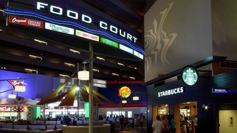 Food Court Luxor Las Vegas