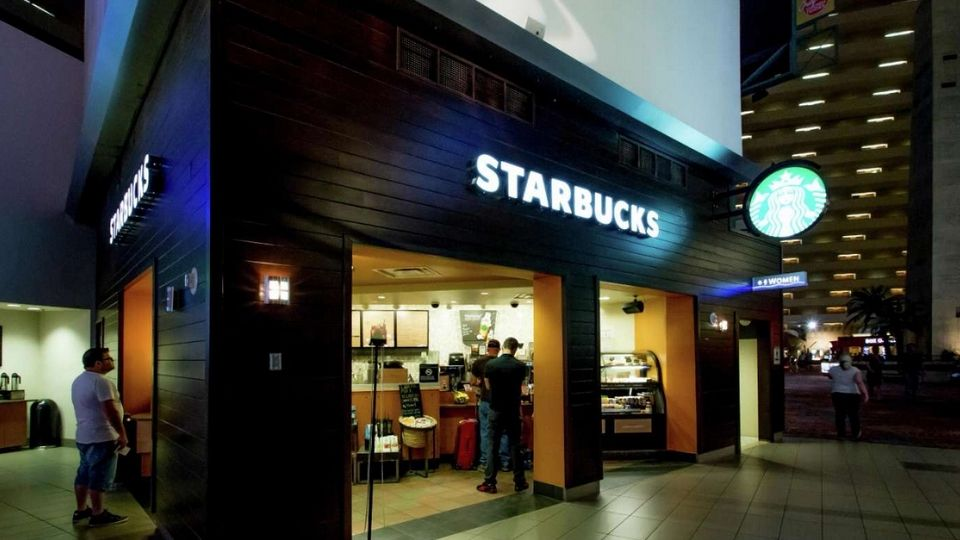 Starbucks Luxor Las Vegas