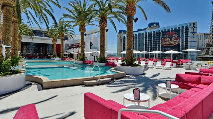 The Cromwell Las Vegas Beachclub Pool