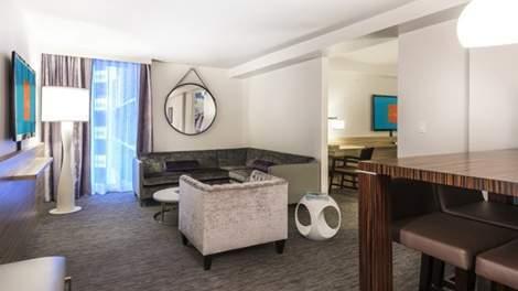 The Linq Las Vegas King Junior Suite