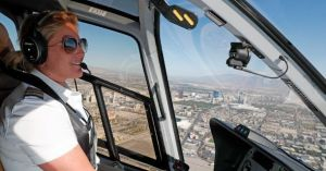 Grand Canyon Helicopter Tour Sunset Grand Celebration With Las Vegas Strip