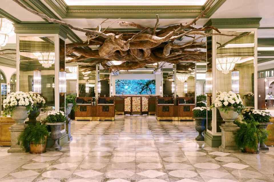 Park MGM Las Vegas Lobby
