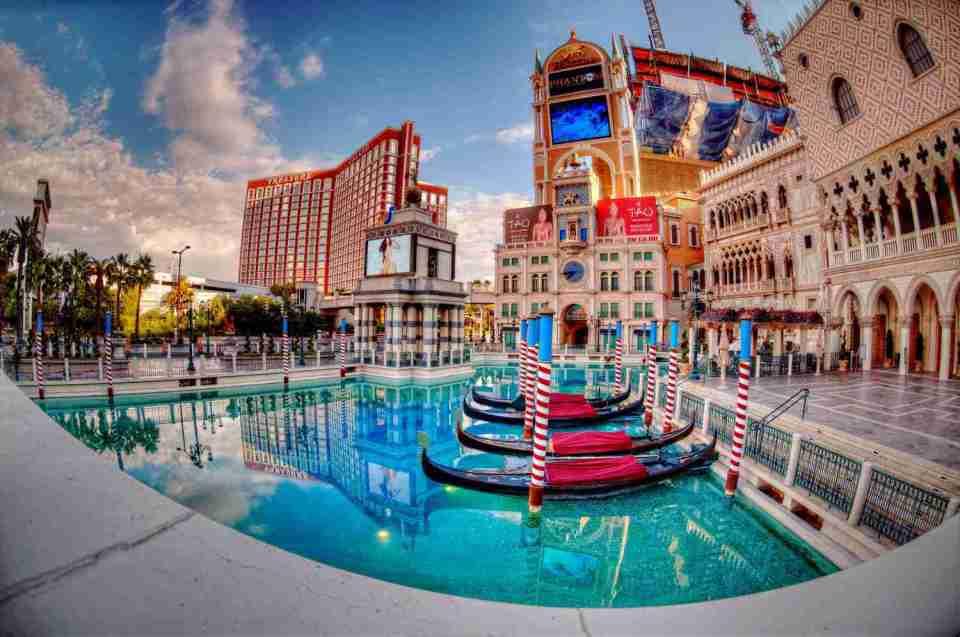 Venetian Las Vegas Gondola Rides