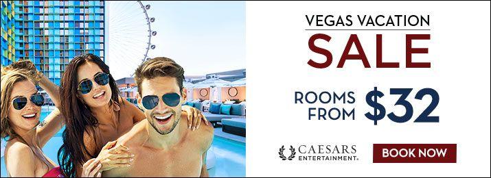 caesars entertainement vegas vacation sale