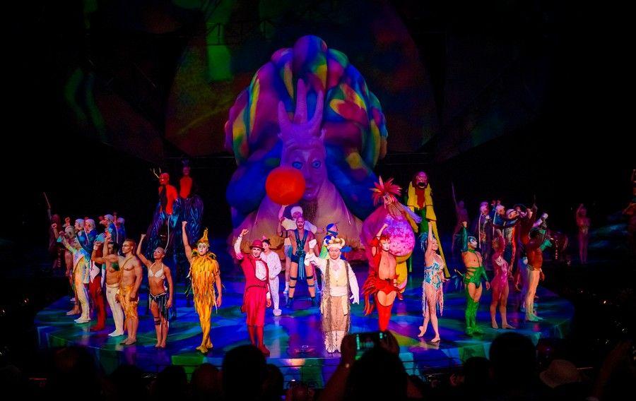 Mystere Cirque du Soleil Las Vegas Show