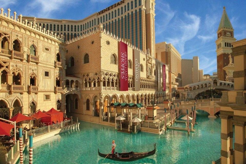 The Venetian Las Vegas Gondola Ride Exterior