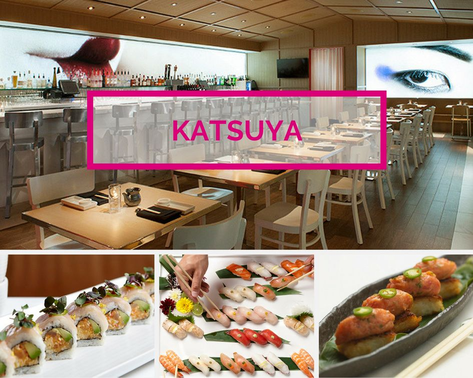 Katsuya Sushi by Starck at SLS Las Vegas